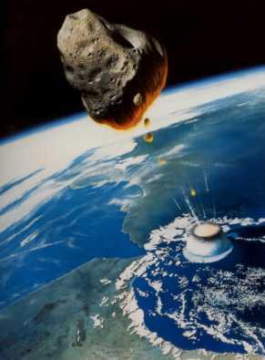 Texte de  l'Apocalypse de Jean avec images actuelles Meteor5