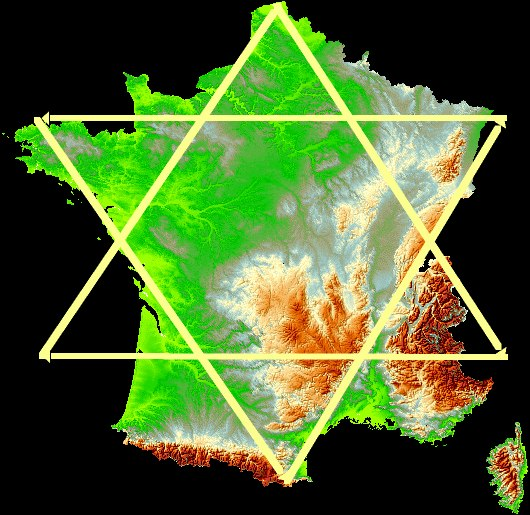 - France et Hexagone -