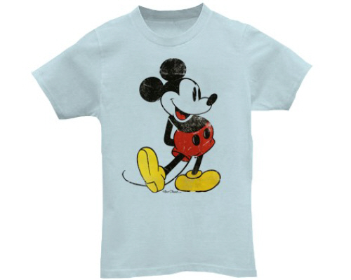 "— T-shirt ""Mickey Mouse - Walt Disney —"