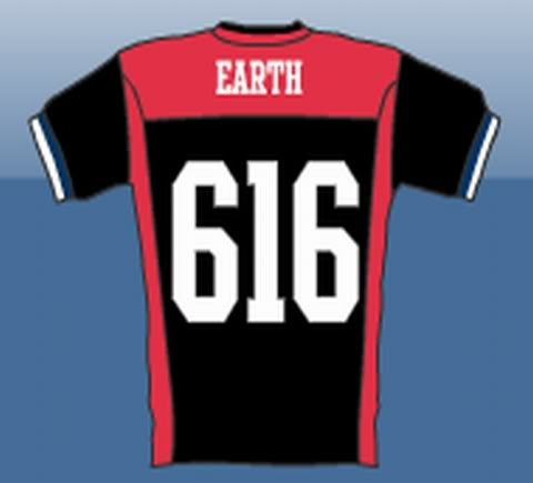 """T-shirt Earth 616"""