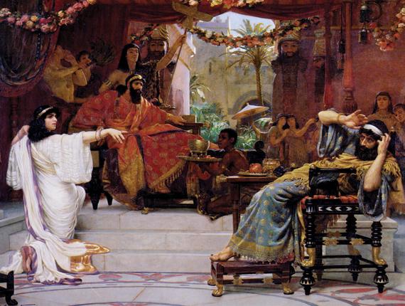 Esther dénonçant Haman
