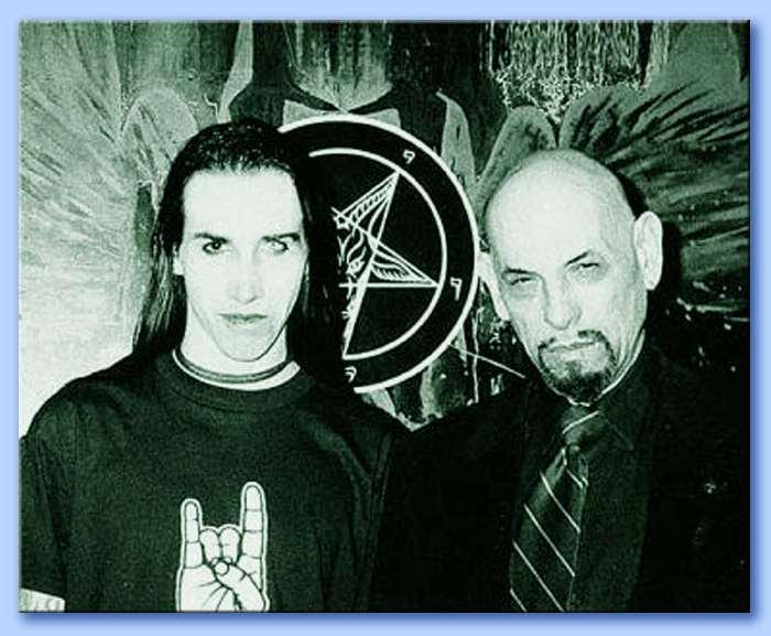 Marilyn Manson et Anton Lavey