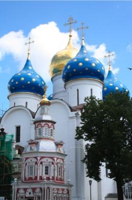Monastère de la Laure de la Sainte-Trinité à Zagorsk (Russie)