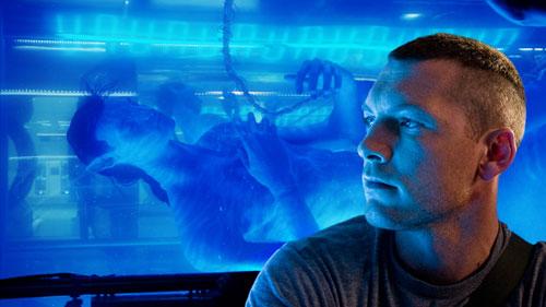"""Capture d'écran d'une scène du film """"Avatar"""" de J. Cameron"""