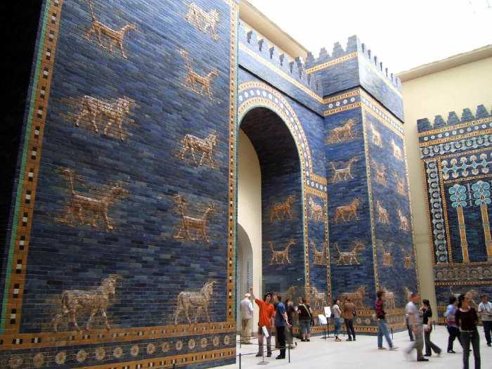 Porte d'Ishtar au Pergamum Museum de Berlin
