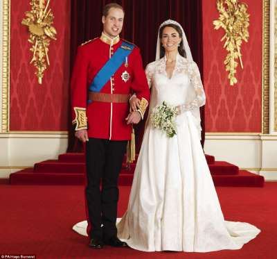 William et Kate  Photo officielle du couple princier
