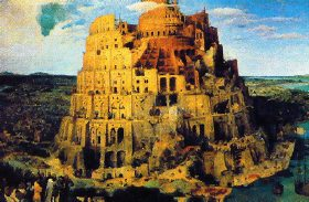 Tour de Babel selon  Brugel