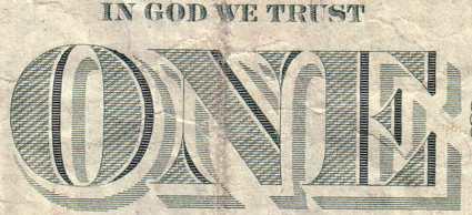 détail central du dollar
