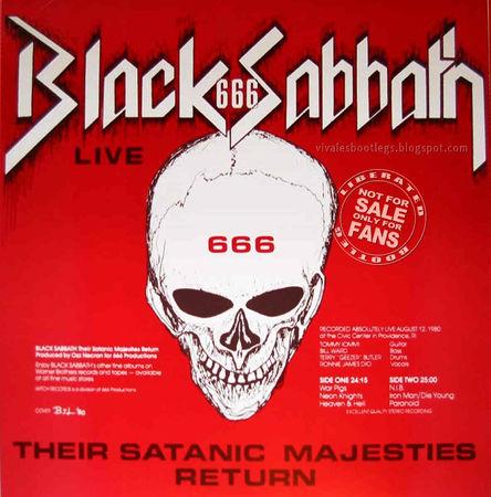 Black Sabbath 666  Retour de leurs majestés sataniques