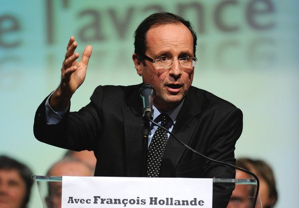 François Hollande en meeting
