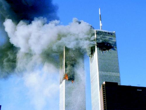 Tours du World Trade Center le 11 Septembre 2001