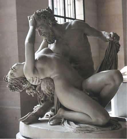 Satyre et Bacchante