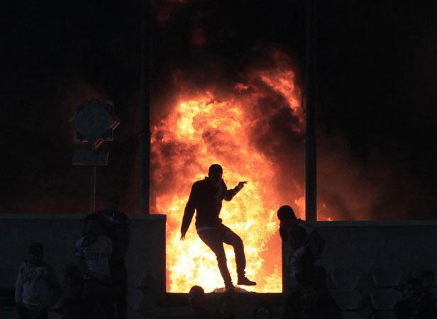 Violences sur le stade de Port Saïd le 1er février 2012