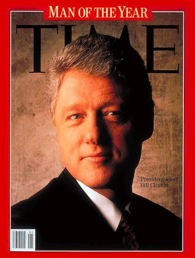 "Clinton ""man of the Year"""