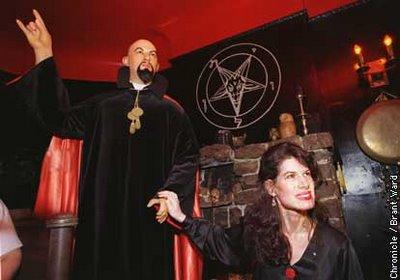 Anton Lavey, fondateur de l'Eglise de Satan