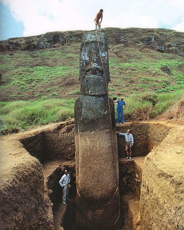 Statues de l'Ile de Pâques