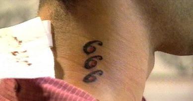 Tatouages 666