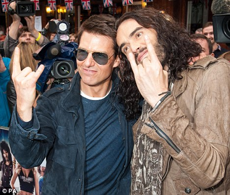 Tom Cruise et Russel Brand
