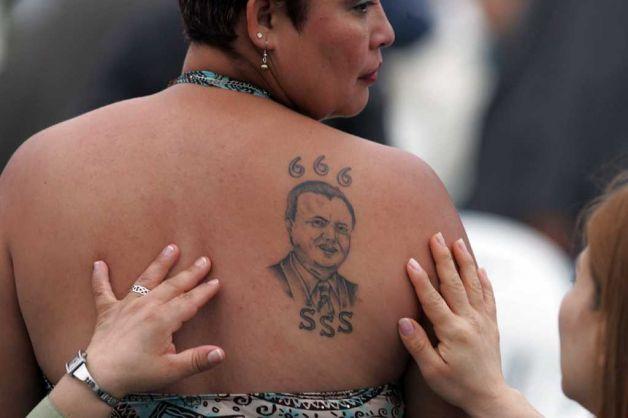 """Disciples"" tatoués du 666 de José Luis de Jesus Miranda"