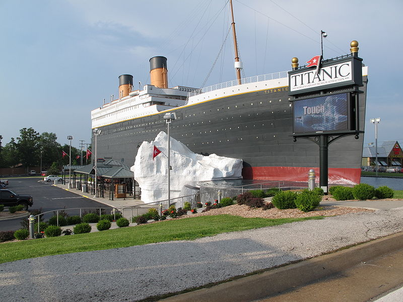 - Musée Titanic - Branson -