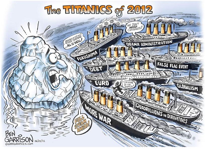 Les Titanics de 2012