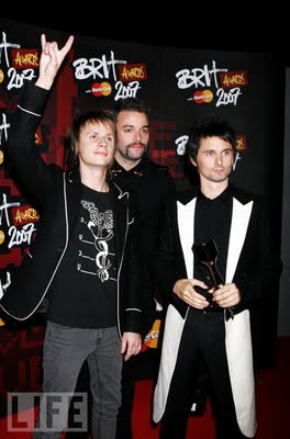 Groupe Muse en couverture de LIFE
