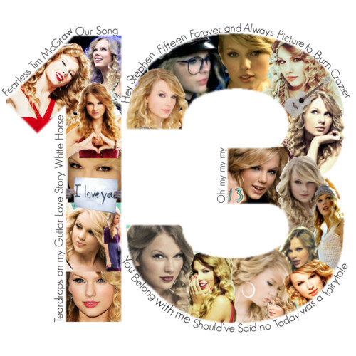 Collage Taylor Swift 13