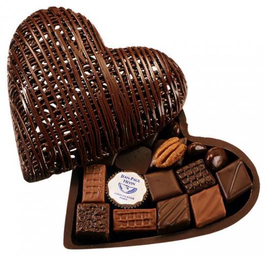 """Boîte de chocolats spéciale """"St Valentin"""""""