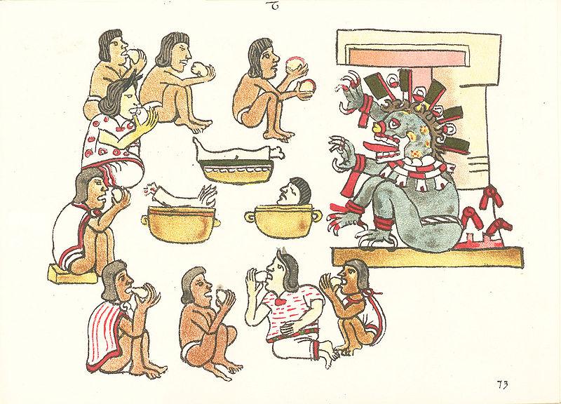 """Cœur prélevé par un """"prêtre"""" Amérindien sur une jeune victime encorre vivante"""
