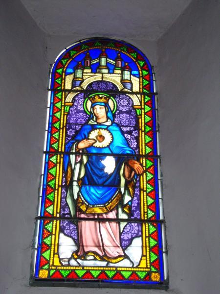 Vitrail Sacré Cœur de Notre-Dame