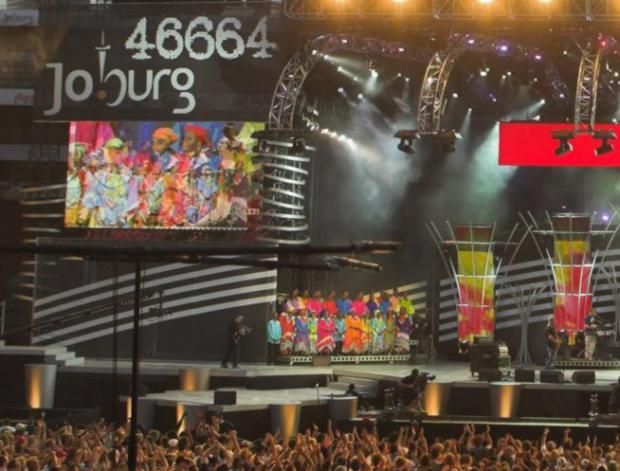 Concert 46664 à Johannesburg