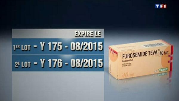 Capture d'écran Journal TF1/9 Juin 2013 - Y175 et Y176