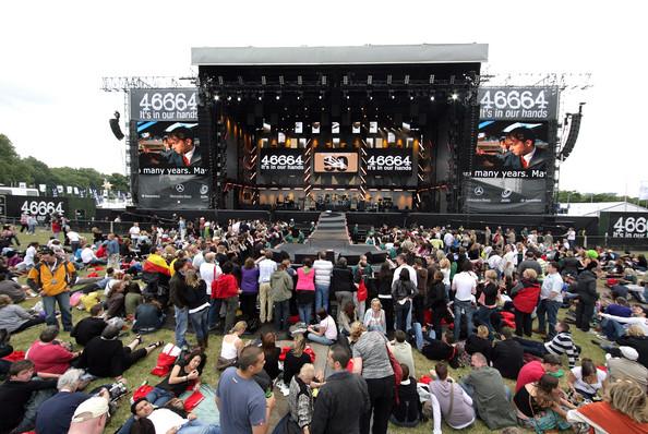 Concert 46664 à Hyde Park le 27 Juin 2008 à Londres