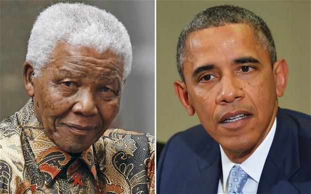 Nelson Mandela/B.Obama