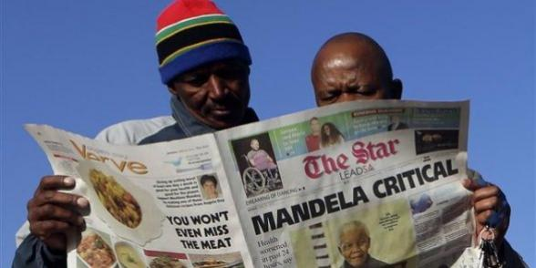 The Star: Mandela critical