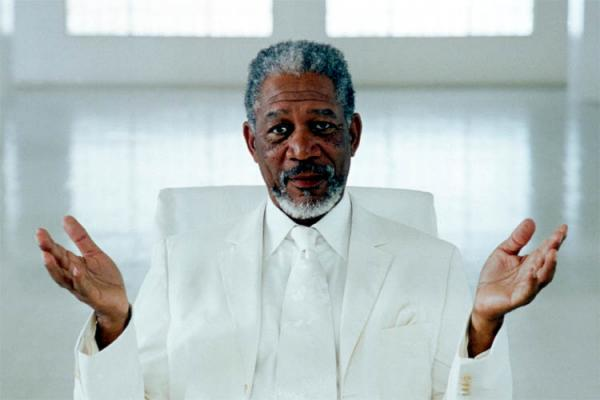 Morgan Freeman Dieu