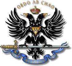 Ordo ab chao «L'ordre né du désordre; l'ordre issu du chaos