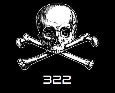 "Logo ""Skull and Bones"""