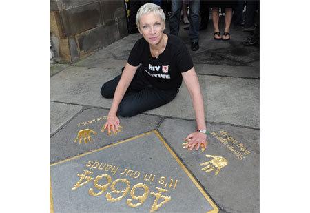 Annie Lennox - ambassadrice du mouvement 46664