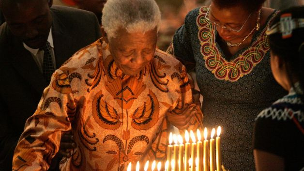 """Happy Birthday"" Nelson Mandela 93 ans"