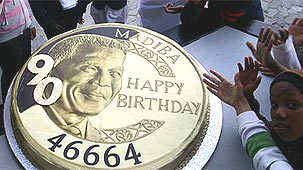 """Happy Birthday"" Nelson Mandela 90 ans"