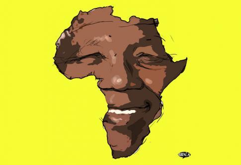 Nelson Mandela... Afri-Caïn?