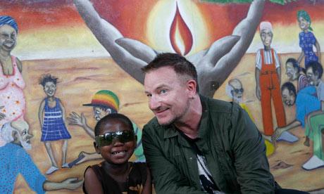 """Bono """"ambassadeur des pauvres"""""""