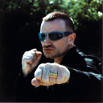 Jesus saves... selon L'Evangile de Bono