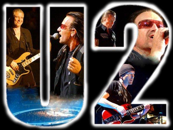 Bono et le groupe U2