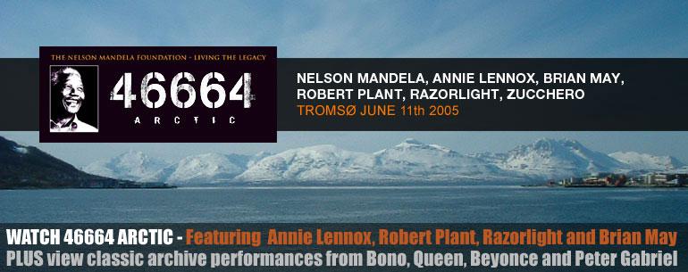 Concert 46664 à Tromso en Norvège
