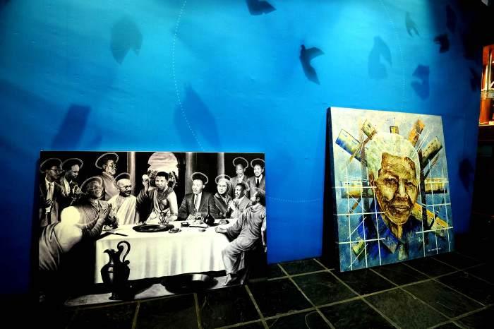 """""""Le dernier souper"""" avec Nelson Mandela"""