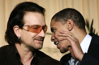 B.H. Obama et Bono