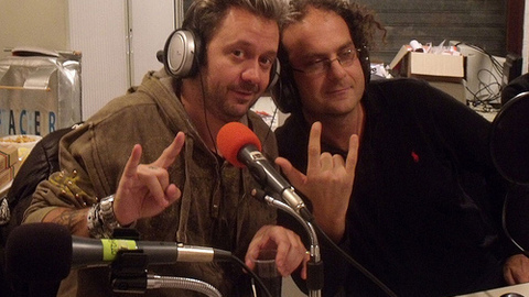 Renaud Hantson du groupe Français Satan Jokers
