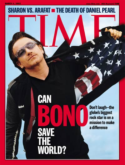 Bono peut-il sauver le monde?